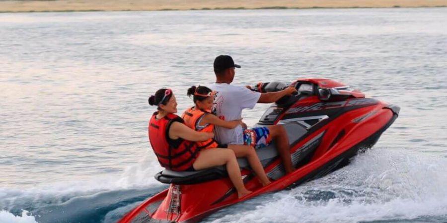 水上活動項目:浮潛、水上摩托車、香蕉船、海戰車、船釣